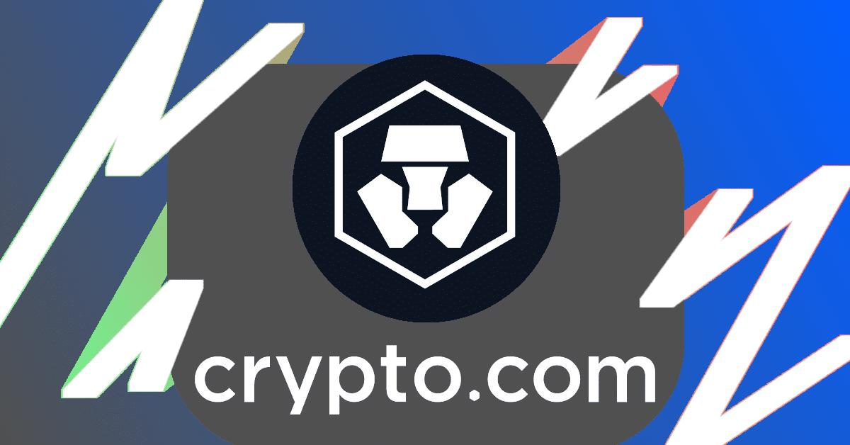 Crypto.com logo and brandname