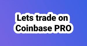 Save on fees at Coinbase Pro logo